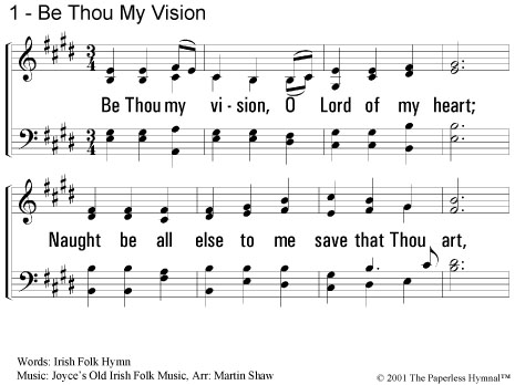 The Paperless Hymnal